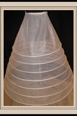 petticoat with 7 hoops